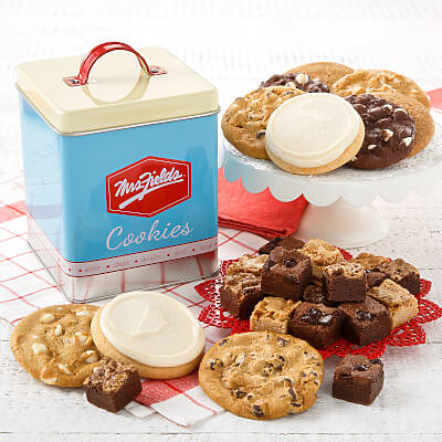 tin everyday classic cookies gift cookie gift gift tin
