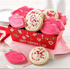 Very Valentine Frosted Crate