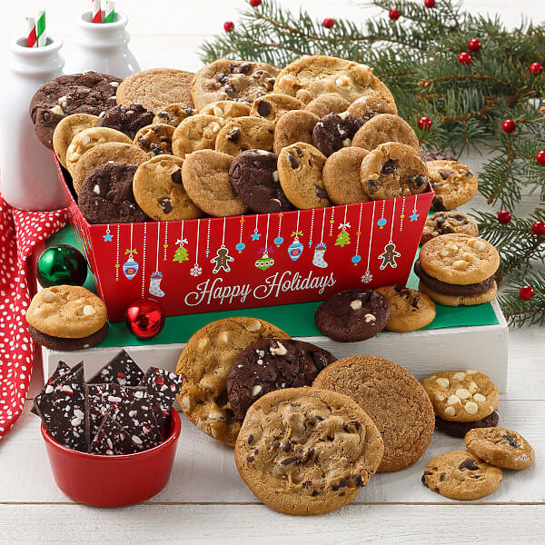 Happy Holidays Cookie Combo Crate