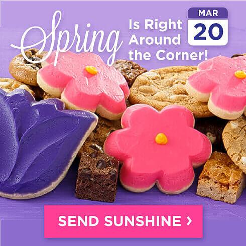 Spring Is Right Around the Corner. Send Sunshine.