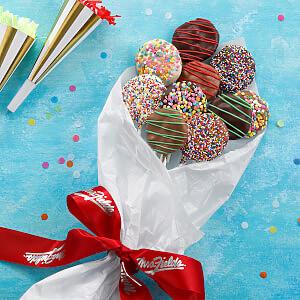 Belgian Chocolate Nibblers Cookie Pop Bouquet