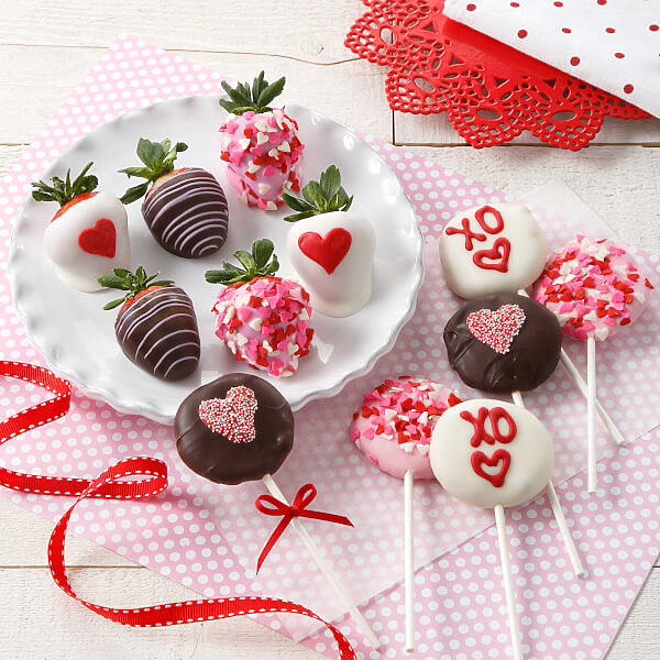 V-Day Chocolate Berries & Nibblers