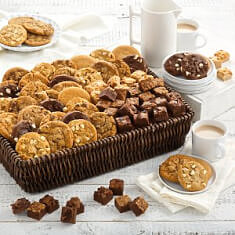 Ultimate Cookies  Brownies Basket