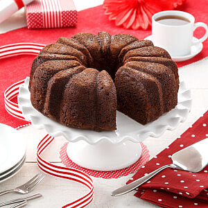 Double Decadence Chocolate Coffee Cake - Double Decadence Chocolate Coffee Cake