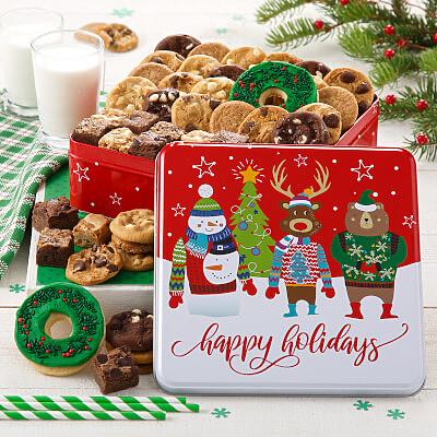 Happy Holidays Med Combo Tin