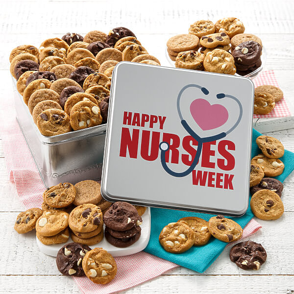 Happy Nurses Week 90 Nibbler Tin