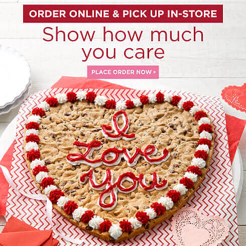 Brighten their day with a Cookie Cake - Place Order Now