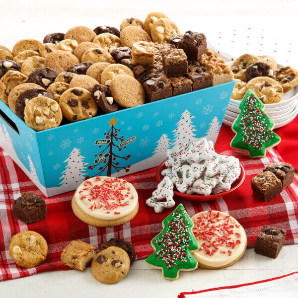 Peace Love  Cookies Combo Crate