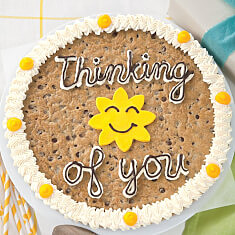 Sunny Side Cookie Cake