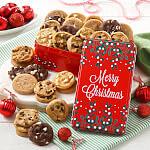 Merry Christmas 30 Nibblers No Nut Tin