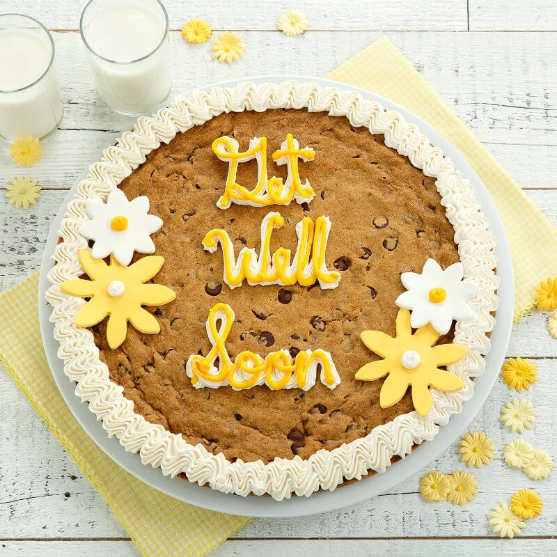 Get Well Soon  Big Cookie Cake