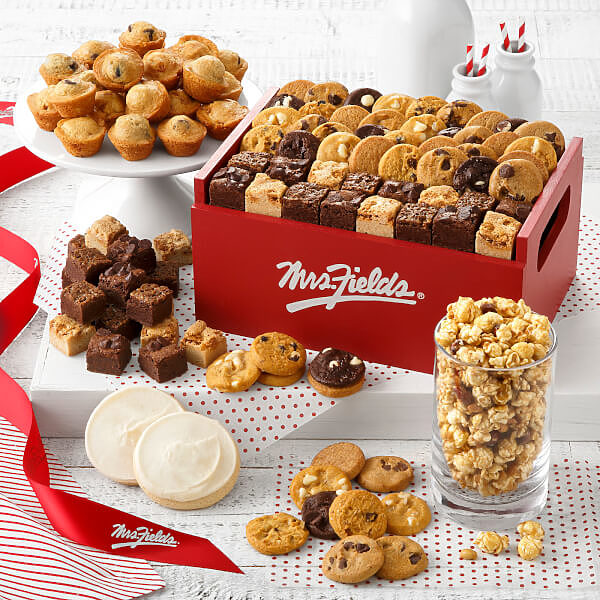 Mrs Fields Deluxe Combo Crate
