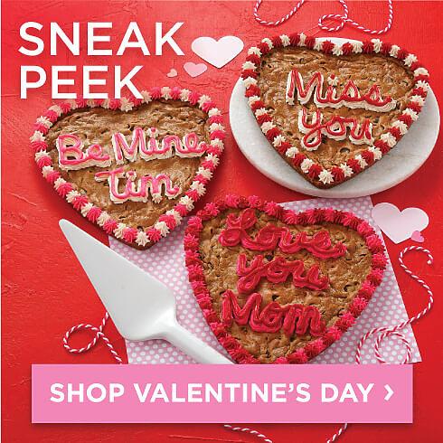 Valentines Day Sneak Peek. Shop Valentines Day.