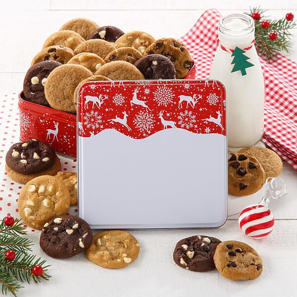 Holiday Reindeer Mini Tin