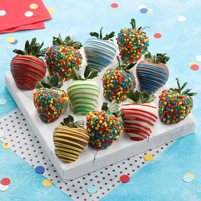Full Dozen Celebration Belgian Chocolate Strawberries