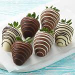 Full Half Dozen Classic Belgian Chocolate Strawberries