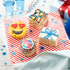Rice Krispie Thank You Gift Box