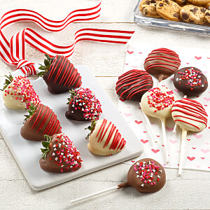 Love Belgian Chocolate Strawberries  Nibblers Pop