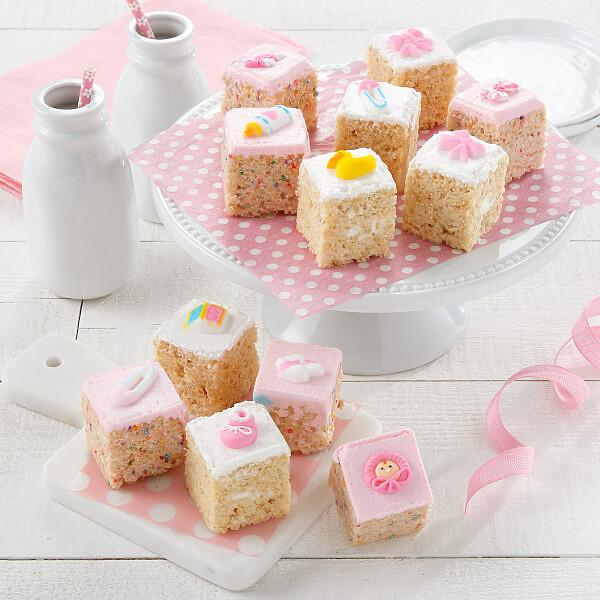 Baby Girl Rice Krispie Mini Gift