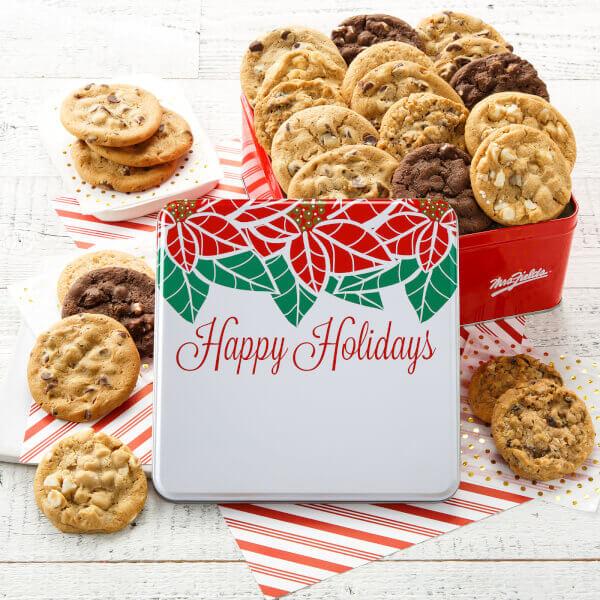 Two Full Dozen Happy Holidays Tin