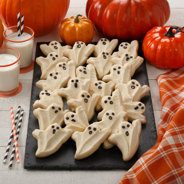 24 Frosted Ghost Cookies