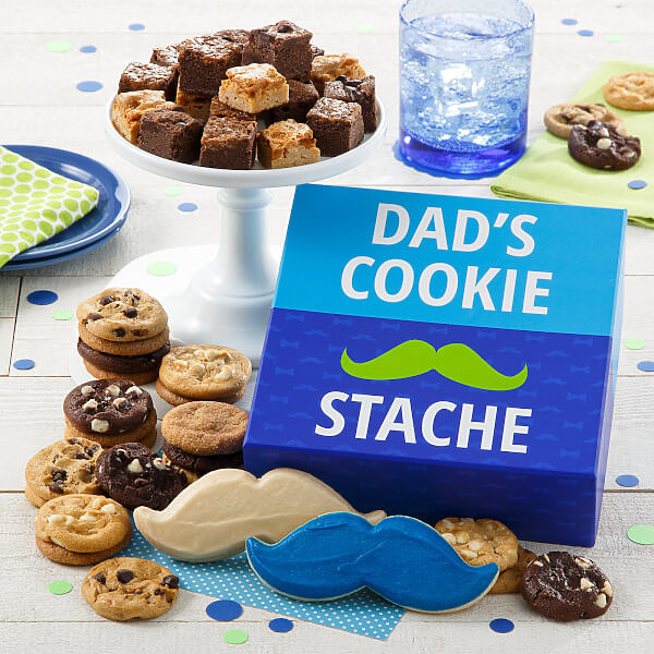 Fathers Day Cookie Stache Combo Box