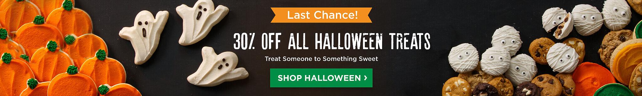 30% Off All Halloween Treats