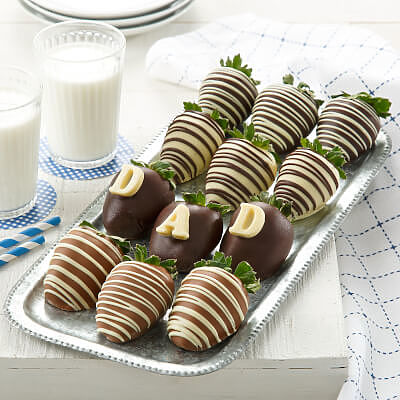 DAD Full Dozen Belgian Chocolate Berry-Gram