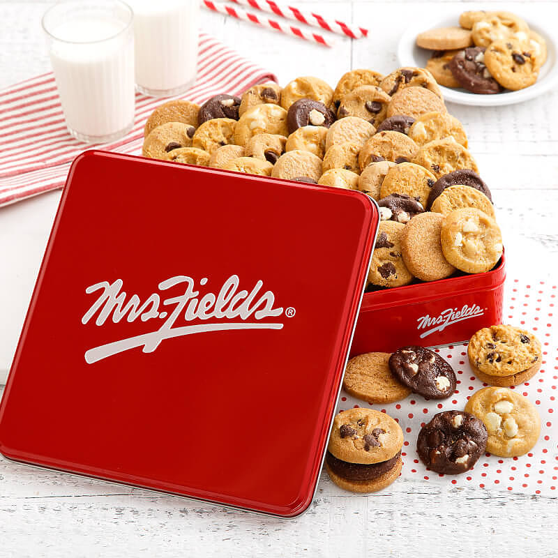 mrs fields cookie tin mrs fields cookie tin cookie tins