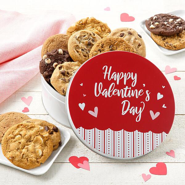 Happy Valentines Day Tin