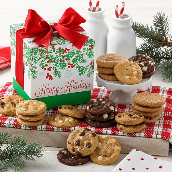 Mistletoe Mini Gift Box Nut-Free