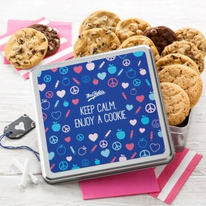 Keep Calm Full Dozen Cookie Tin