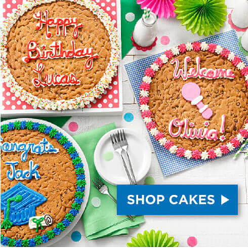 Shop and Send Cookie Cakes