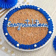 Congratulations Cookie Cake
