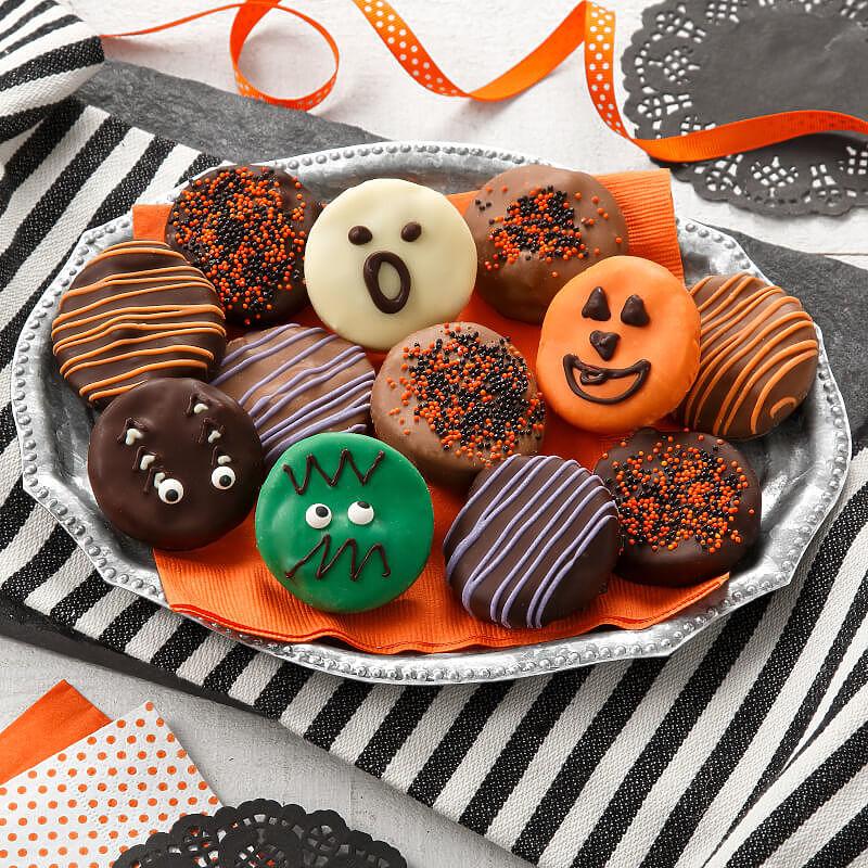 Halloween Belgian Chocolate-Covered Nibblers