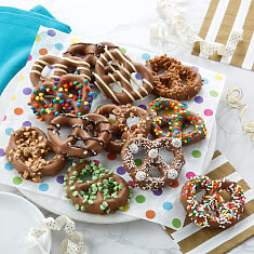 Ultimate Belgian Chocolate Pretzels