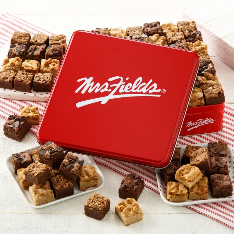 Mrs Fields Signature Brownie Bites Tin