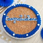 Congratulations Big Cookie Cake
