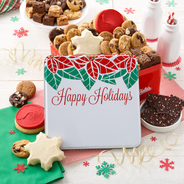 Happy Holidays Large Combo Tin