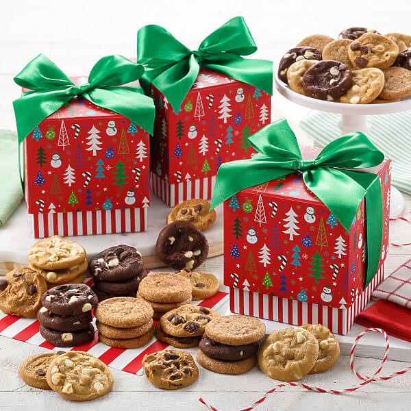 Present Perfect 24 Nibblers Mini Gift Box Trio