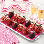Full Dozen Valentines Day Belgian Chocolate Strawberries