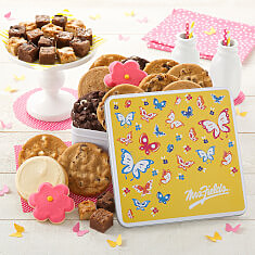Butterfly Cookie Tin Combo