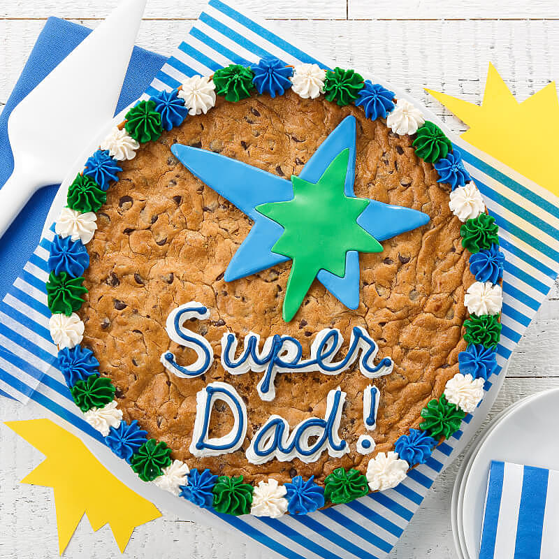 Super Dad Cookie Cake