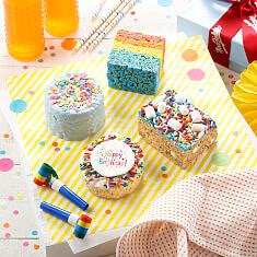 Rice Krispie Birthday Gift Box