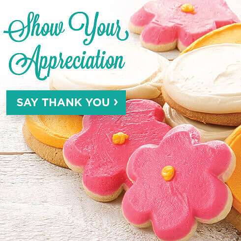 Show Your Appreciation. Say Thank You.