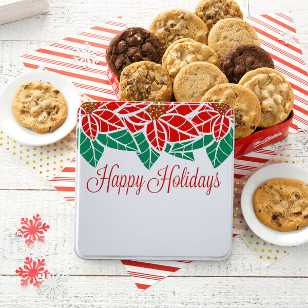 Full Dozen Happy Holidays Tin
