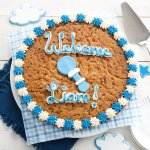 Its a Boy Custom Cookie Cake