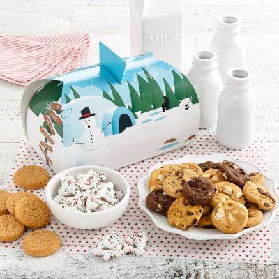 christmas xmas box gift holiday cookies cookie