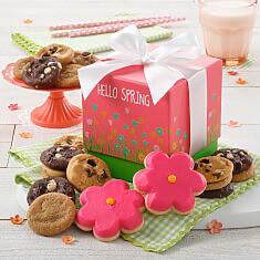 Hello Spring Mini Ribbon Box