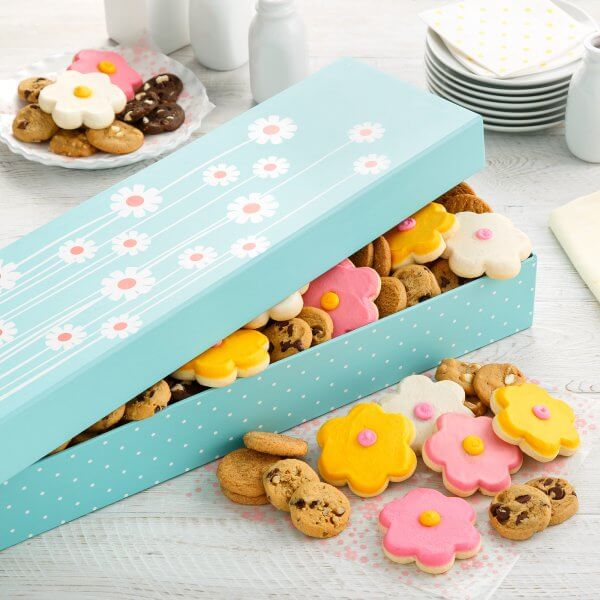 spring gift box cookies mom mother mothers day